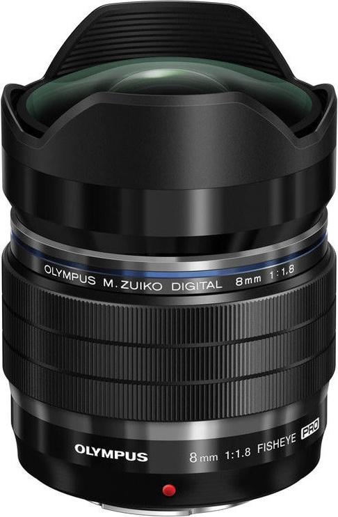 Olympus 8mm f/1.8 Pro M.Zuiko Digital ED Black