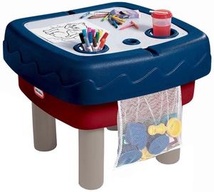 Smėlio dėžė Little Tikes Easy Store Sand & Water 451T, 134x74 cm, su dangčiu