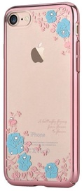 Devia Buddy Back Case With Swarovsky Crystals For Apple iPhone 7/8 Pink/Blue