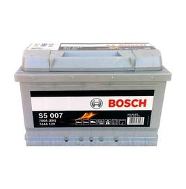 Aku Bosch S5, 12 V, 74 Ah, 750 A