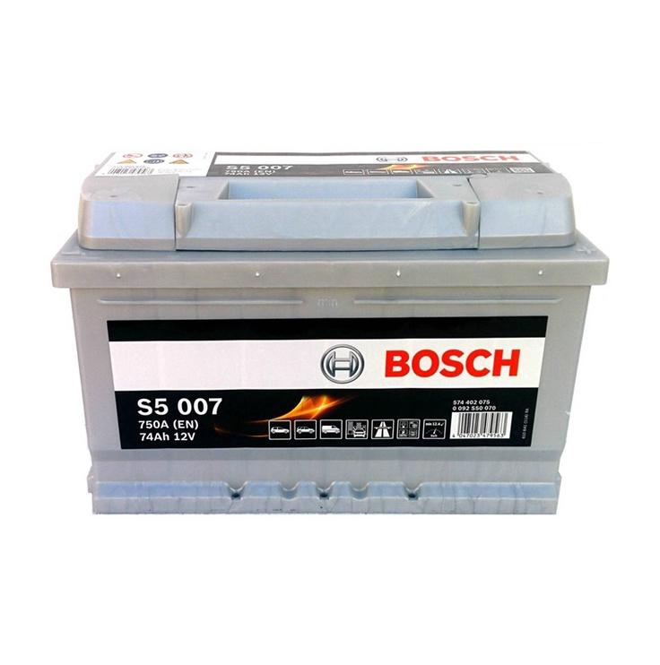 Akumuliatorius Bosch S5, 74 Ah, 750 A, 12 V