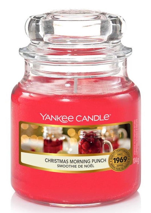 Yankee Candle Christmas Morning Punch 411g Red