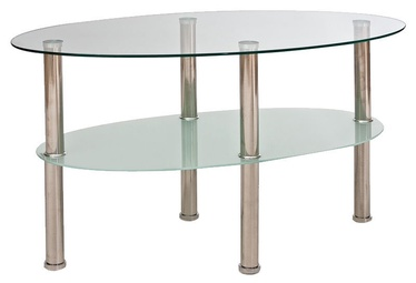 Kavos staliukas Signal Meble Leo A Tempered Glass, 900x500x500 mm