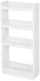 Songmics Storage Rack White 45x91cm