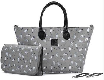 Soma KinderKraft Shopper Bag Mommy Grey