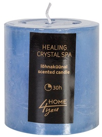 Home4you Candle Healing Crystal Spa D6.8xH7.2cm