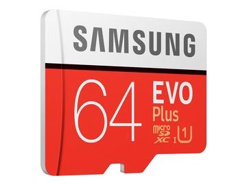 Atminties kortelė 64GB EVO+ SAMSUNG MB-MC64HA/EU R100/W20