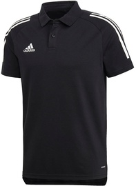 Adidas Mens Condivo 20 Polo Shirt ED9249 Black S