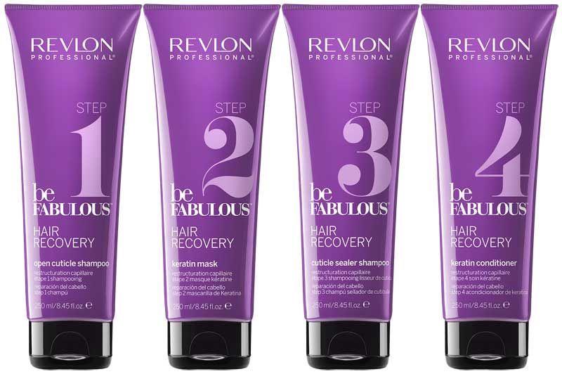 Revlon Be Fabulous Hair Recovery Step 1 Open Cuticle Shampoo 250ml