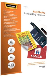 Fellowes Laminating Pouches Easy Display A3 25pcs