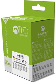TFO Cartridge Canon C-51R 21ml C/M/Y