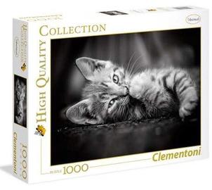 Puzle Clementoni High Quality Kitty 629954, 1000 gab.