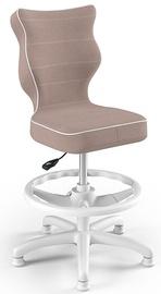 Vaikiška kėdė Entelo Petit Black HC+F Size 4 JS08 White/Beige, 370x350x950 mm