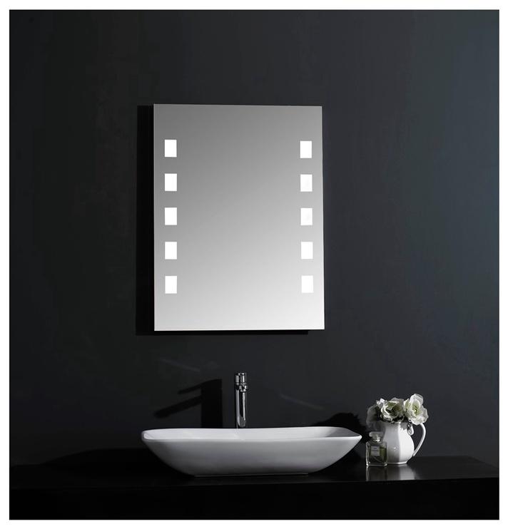 Peegel Masterjero Novito YJ-1764H, valgustusega, riputatav, 60x80 cm