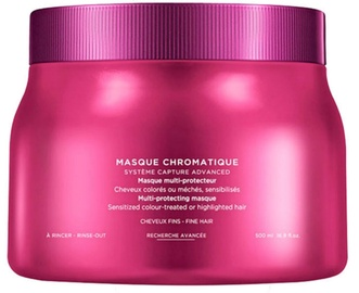 Kaukė plaukams Kerastase Reflection Chromatique Multi-Protecting Mask Fine Hair, 500 ml