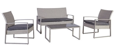Home4you Victoria Garden Furniture Set Grey
