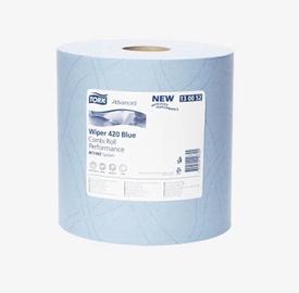 Бумажные полотенца Tork Plus Paper Towel 255m 750 Sheets Blue