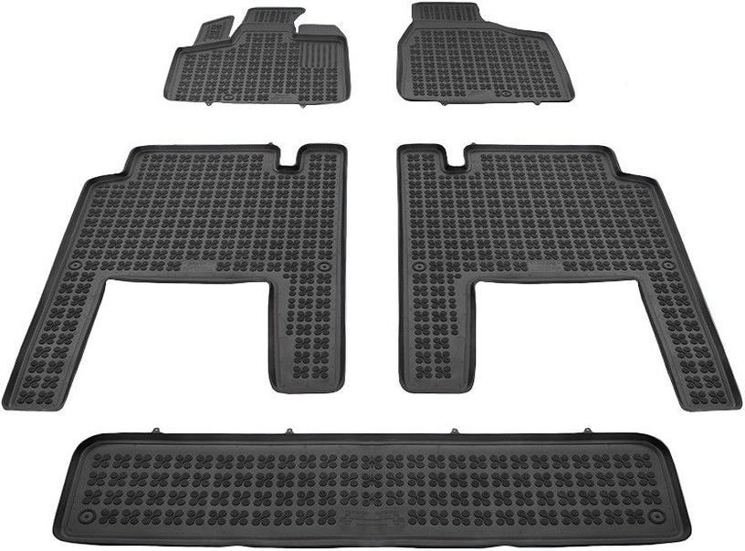 Резиновый автомобильный коврик REZAW-PLAST Chrysler Voyager V 2006 5 Piece, 5 шт.