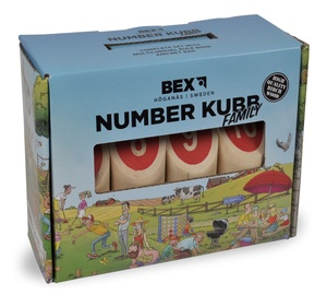 Brain Games Number Kubb Family