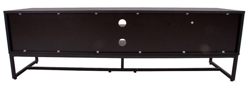 TV galds Home4you Amsterdam 45031, melna/ozola, 1600x400x500 mm