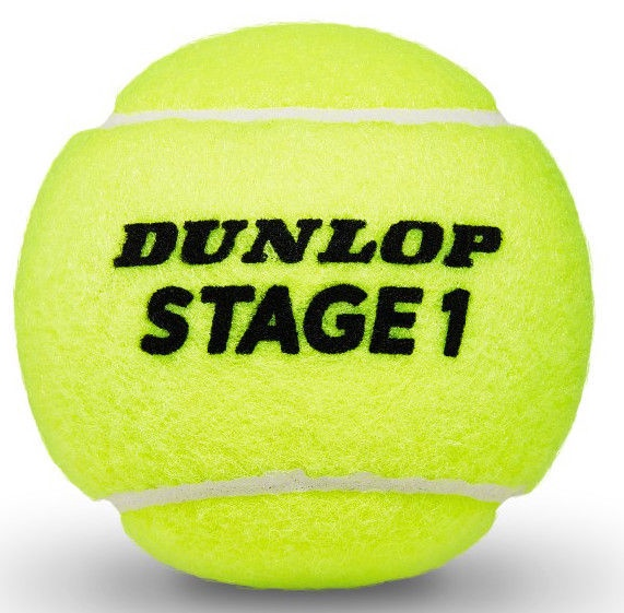 Tennise pall Dunlop Stage1 3pcs Green