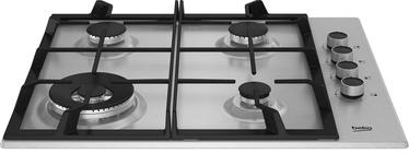 Gāzes plīts Beko Stainless Steel Edition HIBW64125SX