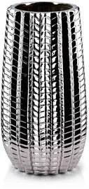 Mondex Cactus Silver Vase 28cm