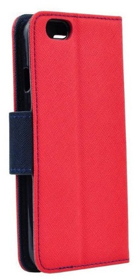 Mocco Fancy Book Case For Huawei Y6 2018 Red/Blue