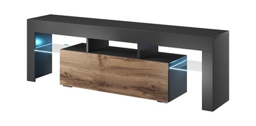 Cama Meble Toro 138 TV Stand Antracite/Wotan Oak