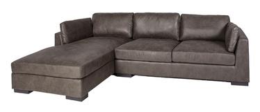 Home4you Malena Corner Sofa Left Side Brown