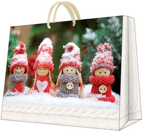 Paw Decor Collection Gift Bag Winter Dolls