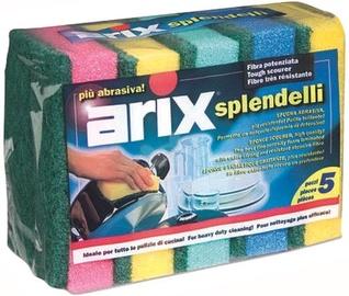 Arix Splendelli Scouring Sponge 5pcs