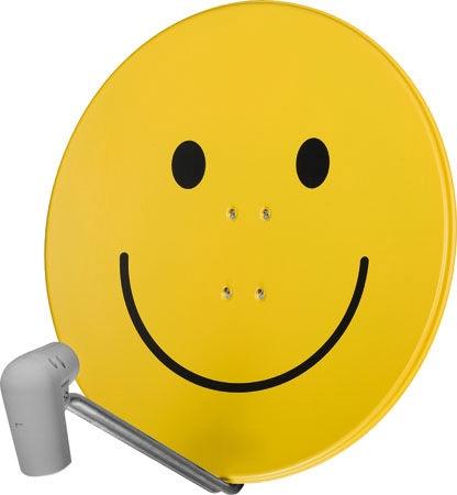 TechniSat Satman 850 Plus UnySat Single LNB Smiley