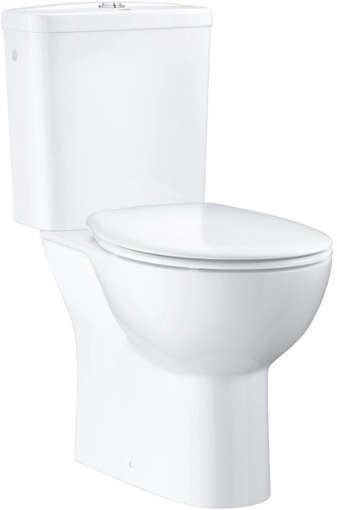 Grohe BauCeramic Rimless WC 356x600mm with QR/SC Lid