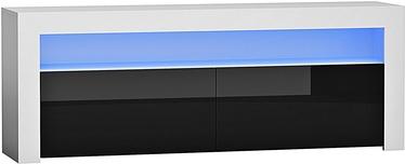 Pro Meble Milano 157 With Light White/Black