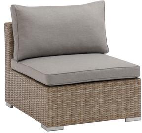 Садовый диван Masterjero, коричневый/серый, 65x84x72 см