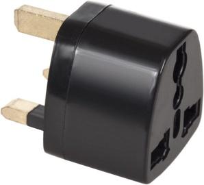 Maclean MCE154 EU Socket for UK Black