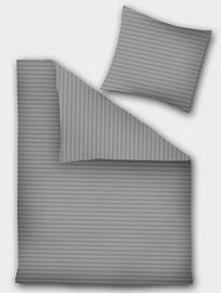 DecoKing Prestige Bedding Set Dark Grey 230x220/50x75 2pcs