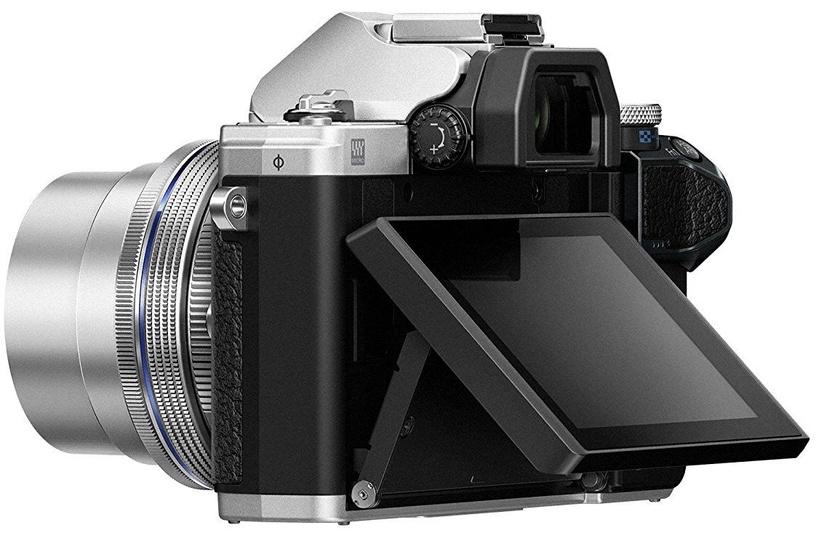 Olympus OM-D E-M10 Mark III Silver + M.Zuiko Digital 14-42mm F/3.5-5.6 Silver + 40-150mm F/4-5.6 R Black