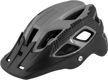 Шлем Force Aves MTB, черный/серый, L/XL, 580 - 610 мм