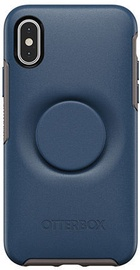 Otterbox Otter Back Case With PopSocket For Apple iPhone X/XS Blue