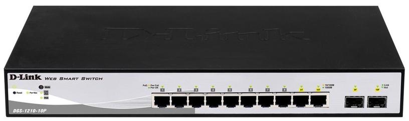 Tinklo šakotuvas D-Link DGS-1210-10P