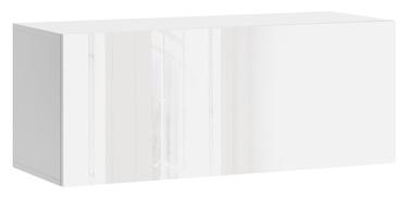 Vivaldi Meble Vivo 01 Wall Shelf White/White Gloss