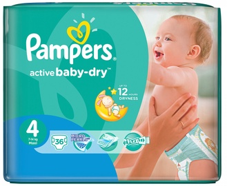 Pampers Active Baby-Dry S4 36