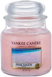Ароматическая свеча Yankee Candle Classic Medium Jar Pink Sands, 411 г
