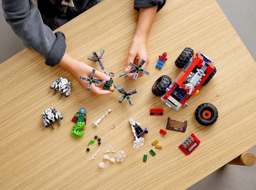 Constructor LEGO Marvel Spider Mans Monster Truck VS Mysterio 76174