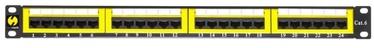 Netrack Patch Panel 19'' CAT 6 UTP 24-Port