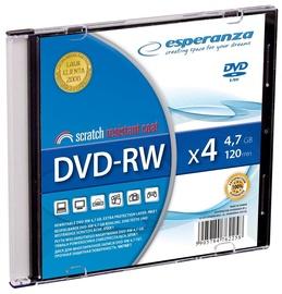 Esperanza 1013 DVD-RW 4x 4.7GB Slim Jewel Case 200pcs