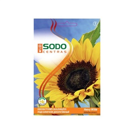 Dekoratīvo saulespuķu sēklas Sodo Centras Henry Wild, 2 g