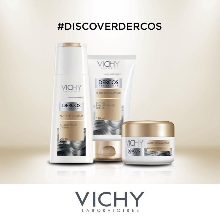 Vichy Dercos Nourishing Reparative Rich Mask 200ml